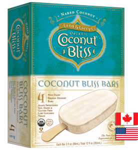 Coconut Bliss Bars - Naked Coconut