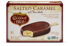 Coconut Bliss Bars - Salted Caramel in Chocolate